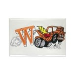 Weatherly Wrecker Rectangle Magnet (100 pack)