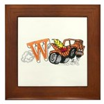 Weatherly Wrecker Framed Tile