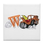 Weatherly Wrecker Tile Coaster