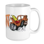 Weatherly Wrecker Large Mug