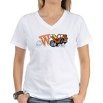 Weatherly Wrecker Women's V-Neck T-Shirt