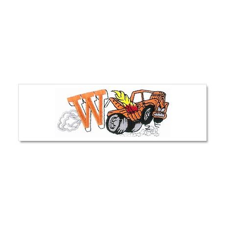 Weatherly Wrecker Car Magnet 10 x 3