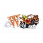 Weatherly Wrecker 38.5 x 24.5 Wall Peel