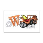 Weatherly Wrecker 22x14 Wall Peel