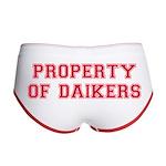 Property of Daikers Women's Boy Brief