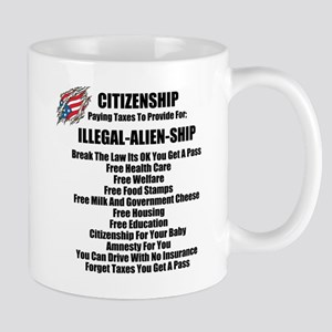 ILLEGAL-ALIEN-SHIP Mug
