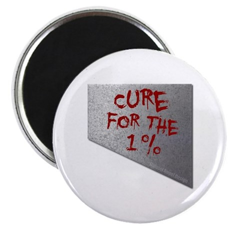 """Cure for the 1 percent 2.25"""" Magnet (10 pack)"""