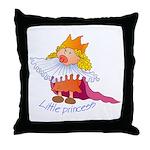 Little Princess Throw Pillow