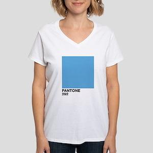 Color Swatch 292 Women's V-Neck T-Shirt