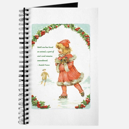 Cute Christmas victorian Journal