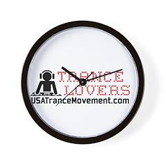Trance Lovers Wall Clock