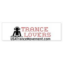 Trance Lovers Sticker (Bumper)