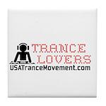 Trance Lovers Tile Coaster