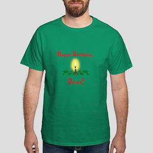 Happy Birthday, Jesus Dark T-Shirt