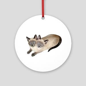 Siamese Twins Ornament (Round)