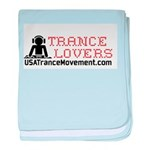 Trance Lovers baby blanket