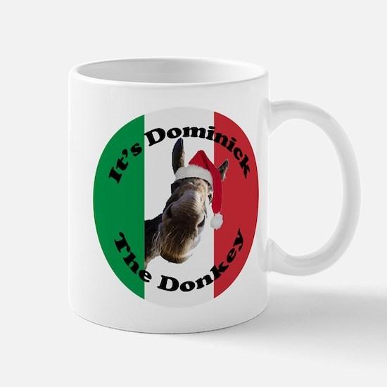 It's Dominick! (round) Mug