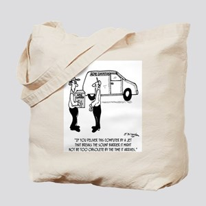 Computer Obsolete Before It Arrives Tote Bag