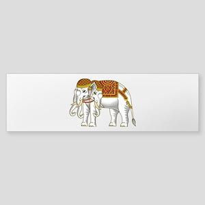 Thai Erawan White Elephant Sticker (Bumper)