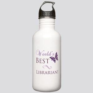 World's Best Librarian Stainless Water Bottle 1.0L