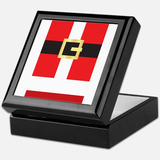 Santa Suit Keepsake Box