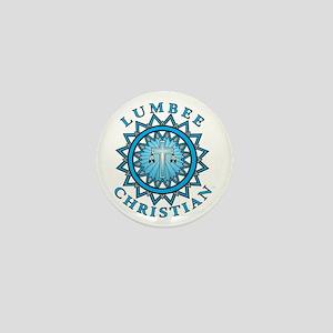Lumbee Christian Mini Button