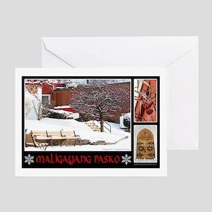 Filipino Merry Christmas - 1 Greeting Card