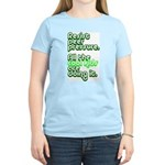 Resist Peer Pressure Women's Light T-Shirt