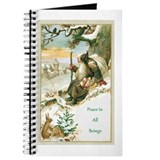 Christmas animal Journals & Spiral Notebooks