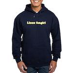 Linux fangirl Hoodie (dark)