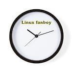 Linux fanboy Wall Clock