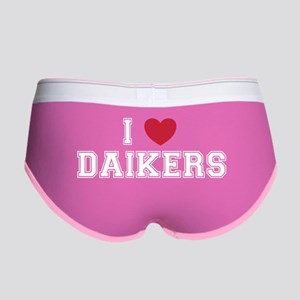 I Love Daikers Women's Boy Brief