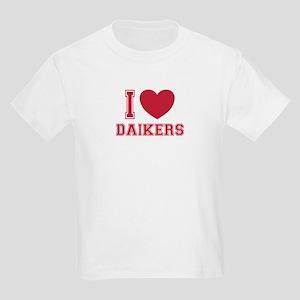 I Love Daikers Kids Light T-Shirt