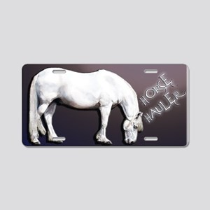 Hug Your Horse - Aluminum License Plate