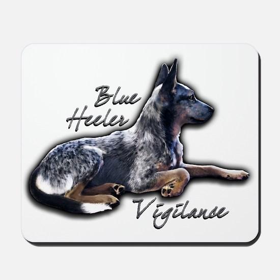 Blue Vigilance - Mousepad