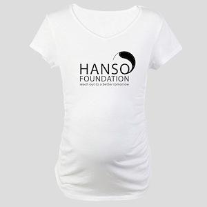 Hanso Foundation Maternity T-Shirt