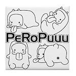 PeRoPuuu Tile Coaster
