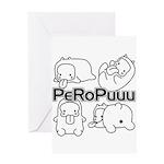 PeRoPuuu Greeting Card