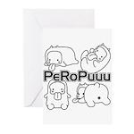 PeRoPuuu Greeting Cards (Pk of 10)