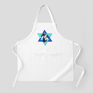 Jewish Cat Stars Apron