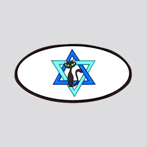 Jewish Cat Stars Patches