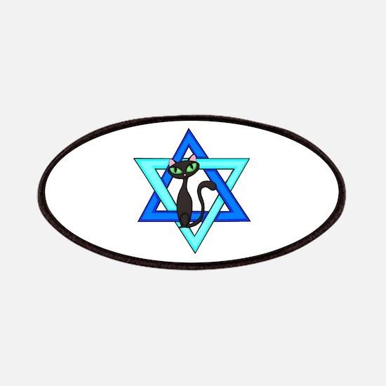 Jewish Cat Stars Patches
