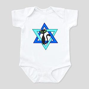 Jewish Cat Stars Infant Bodysuit