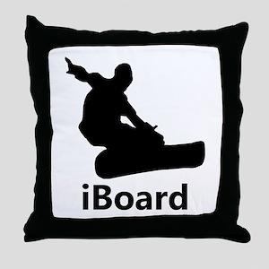 iBoard Throw Pillow