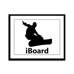 iBoard Framed Panel Print
