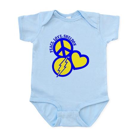 P, L, Sheldon Infant Bodysuit
