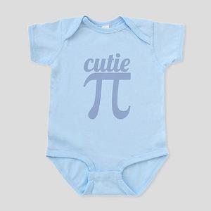 Cutie Pi Blue Infant Bodysuit