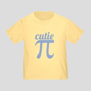 Cutie Pi Blue Toddler T-Shirt