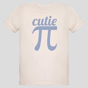 Cutie Pi Blue Organic Kids T-Shirt