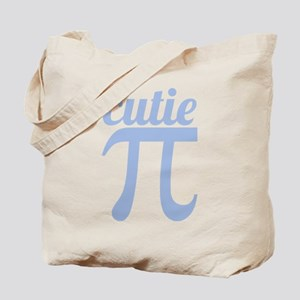Cutie Pi Blue Tote Bag